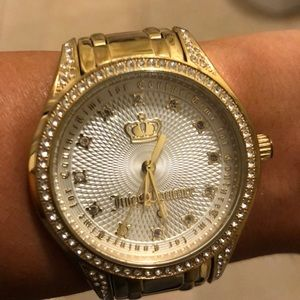 Juicy Couture Gold Watch